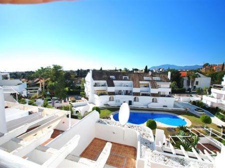 West facing 2 bedroom apartment in closed urbanization, El Dorado, with 6 access doors to the comple,Spain