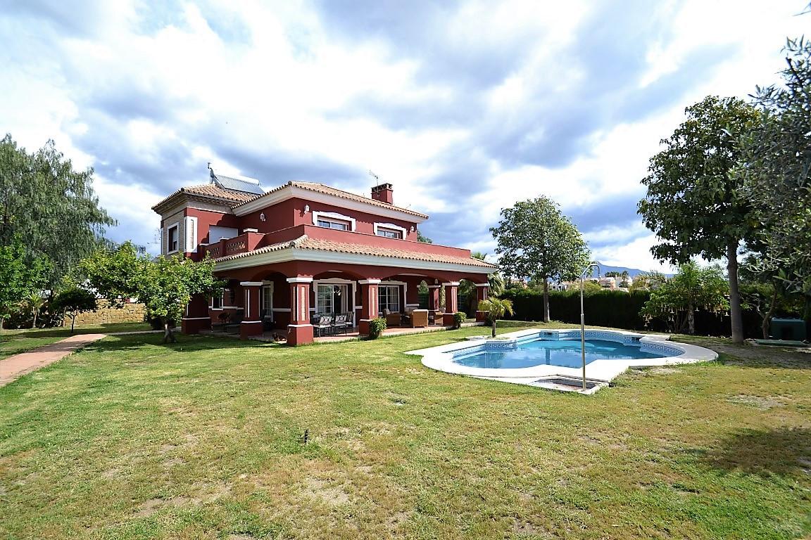 Detached Villa with sea views in Bel Air, Estepona, just west of Marbella. This villa has been built,Spain