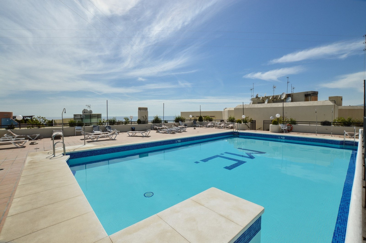 Frontline beach apartment for sale in the center of Marbella, Costa del Sol. Located in a fantastic ,Spain