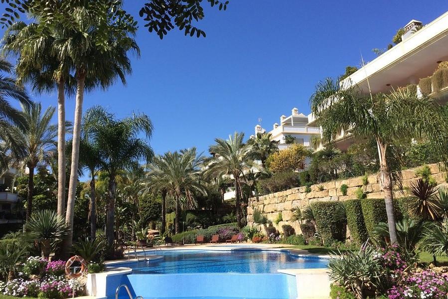 2-bedroom first floor apartment in residence Lomas del Rey, Golden Mile, Marbella. 2 parking spaces,,Spain