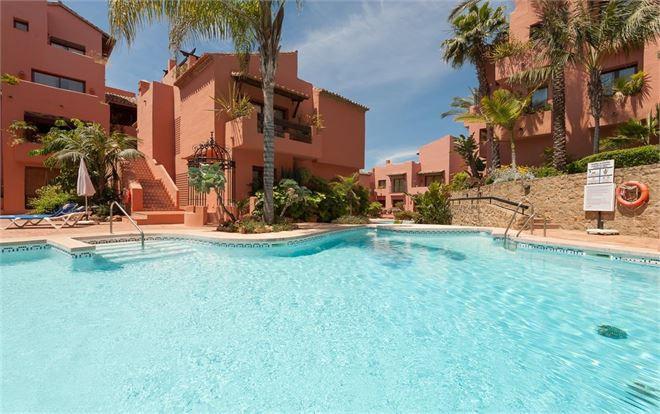 JARDINES DON CARLOS LUXURY COMPLEX, ELVIRIA  Ground Floor Apartment, Elviria, Costa del Sol. 3 Bedro,Spain
