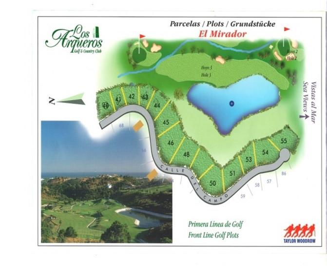 RECOMMENDED PLOT IN LOS ARQUEROS  Well sized plot in the urbanization of Los Arqueros - Benahavis. T,Spain