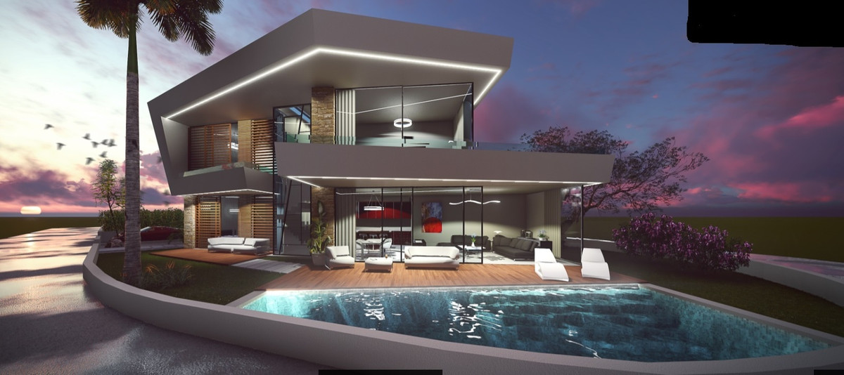 A stunning 3 Bedroom 3 Bathroom Luxury Villa just 1 min walk to Beach and 10 min drive to Puerto Ban,Spain