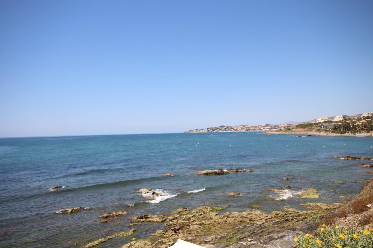 Property located in Mijas Costa, in the upper Riviera del Sol.  Nice sea views, terrace facing south,Spain