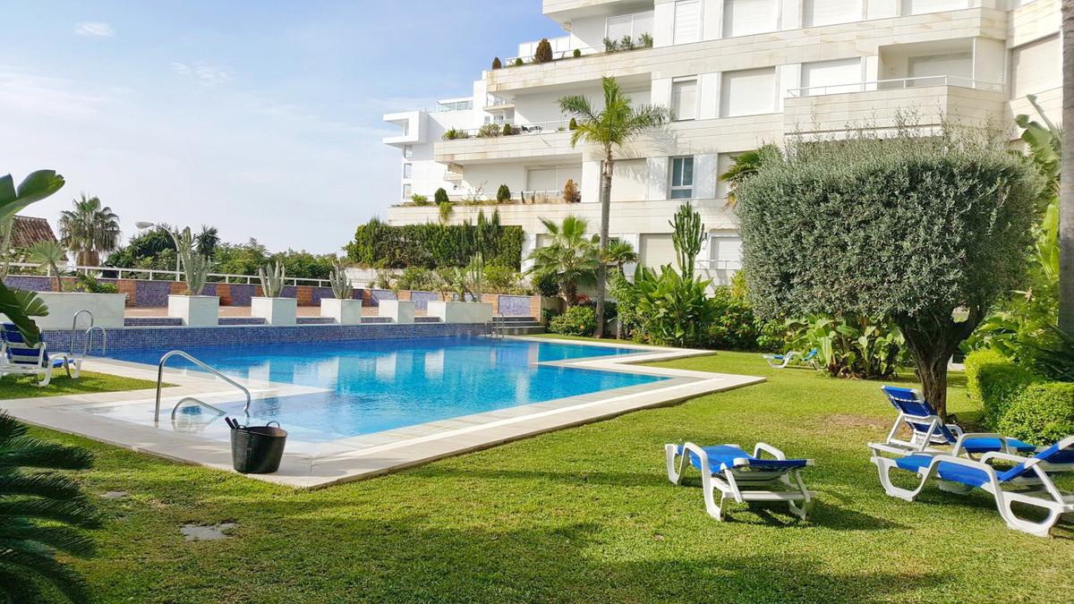 Apartment in firstline beach complex for sale in Marbella Center, Costa del Sol. With beautiful sea ,Spain