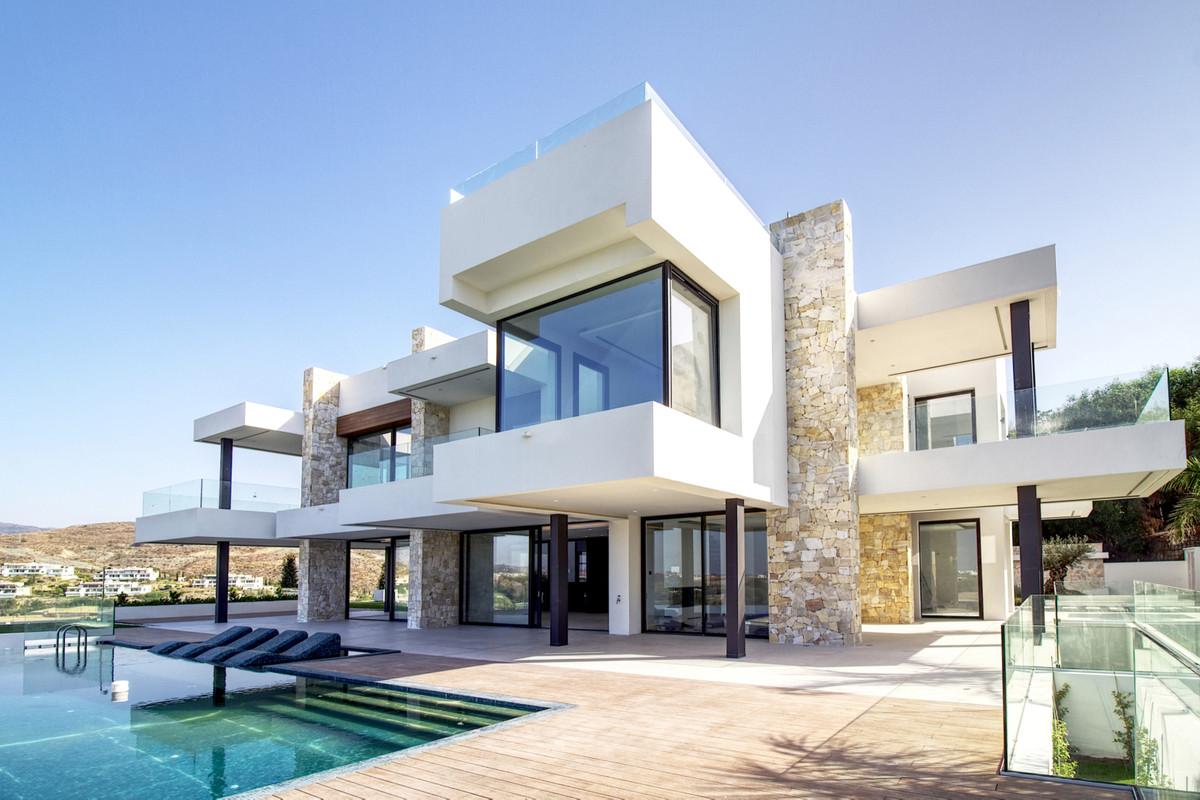 Villa Altahalla, a vision of modern living. The most impressive villa on the coast, designed by a te,Spain