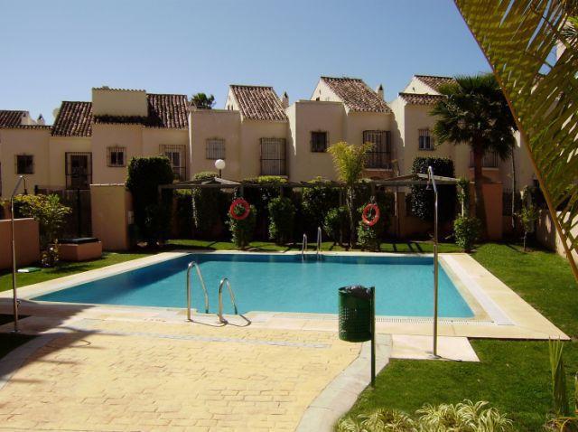 Beautiful ground floor apartment for sale in El Rosario Playa, Marbella, Costa del Sol. Perfect loca,Spain