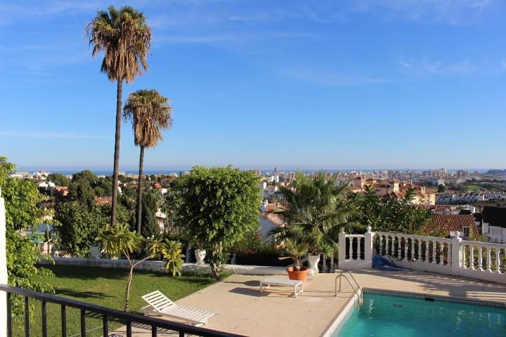 Sunny villa with amazing sea views and panoramic views in urb. Campomijas Mijas Costa. Offering 4 be,Spain