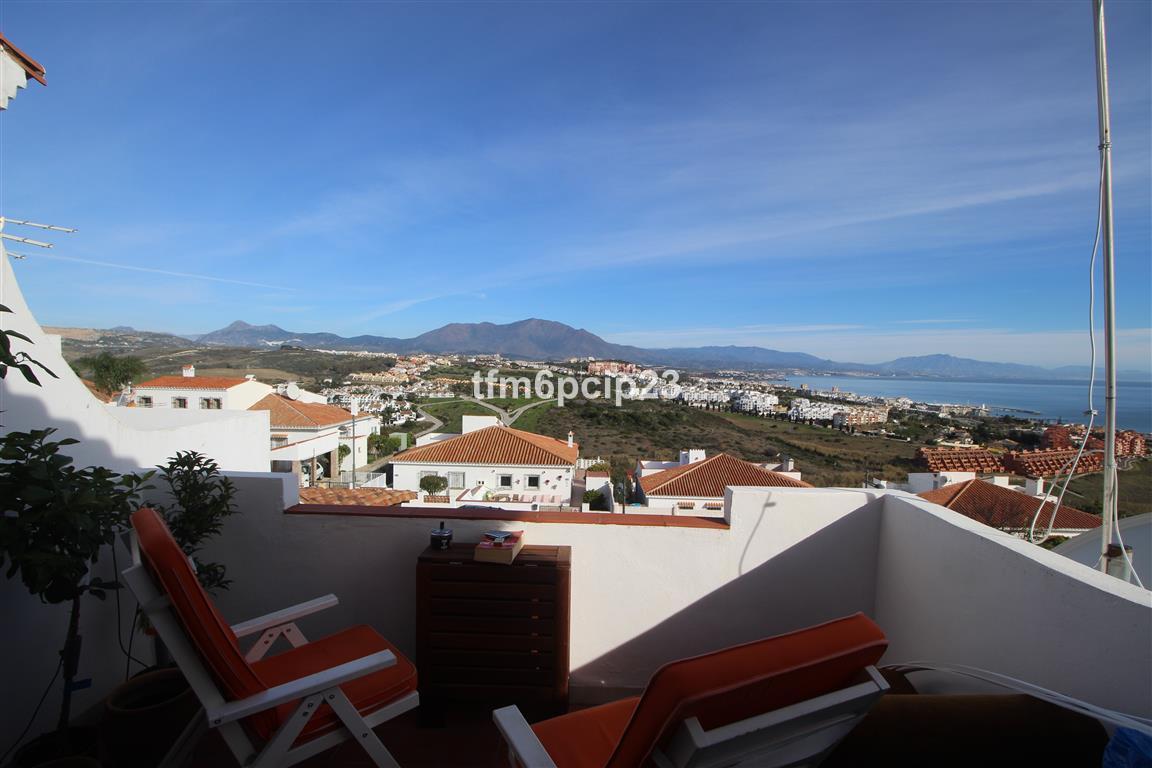 PRINCESA KRISTINA MANILVA   * Nice penthouse studio with a large terrace * Impressive sea and mounta,Spain