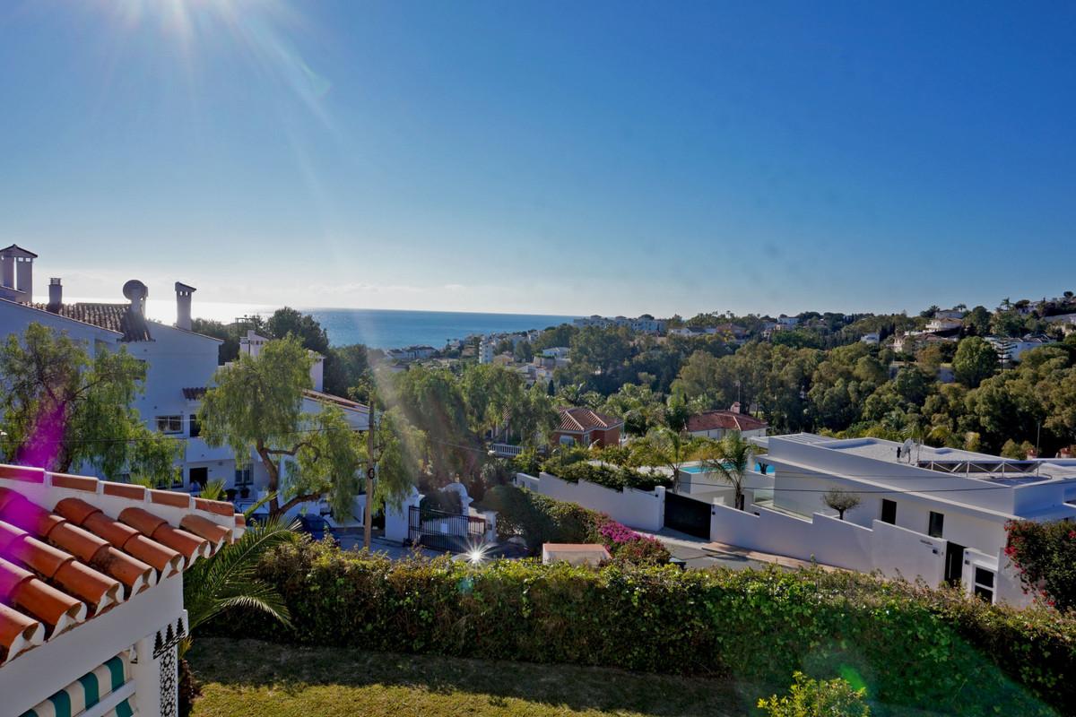 Spacious villa close to La Cala de Mijas with beautiful sea views and a private covered swimming poo,Spain