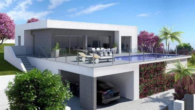 Brand new residential in Benitatxell, between Javea and Moraira, (Costa Blanca North) made of modern,Spain