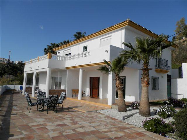 Vista Del Castillo is an imposing individual villa in a fantastic location within walking distance t,Spain