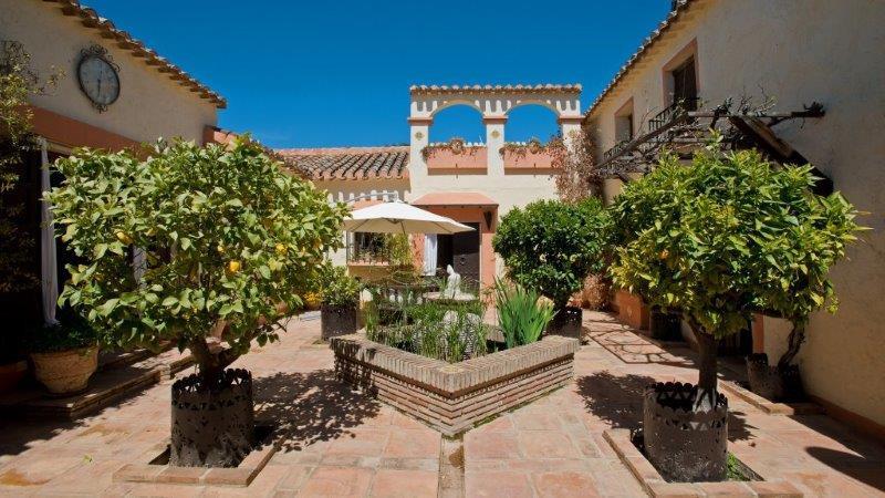Stunning Hispano Moorish finca, comprising 2 back to back villas, infinity pool, landscaped gardens ,Spain