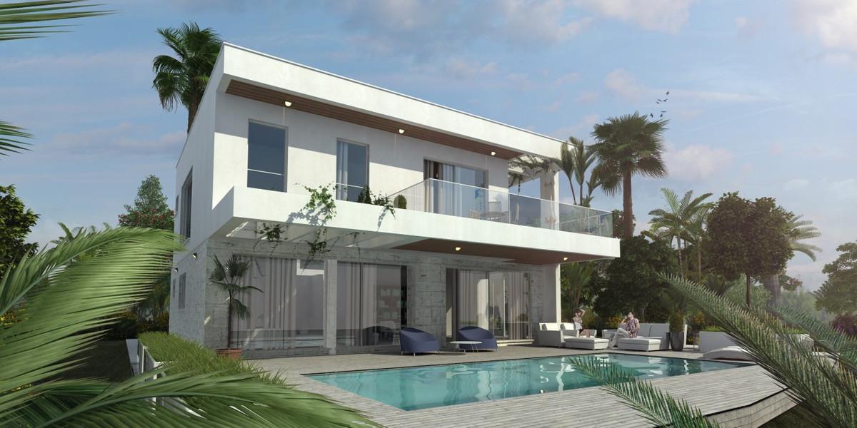 Contemporary Villas - New Build - Cerros del Aguila  Villa with plot Build - 125m2 Basement - 40m2 P,Spain