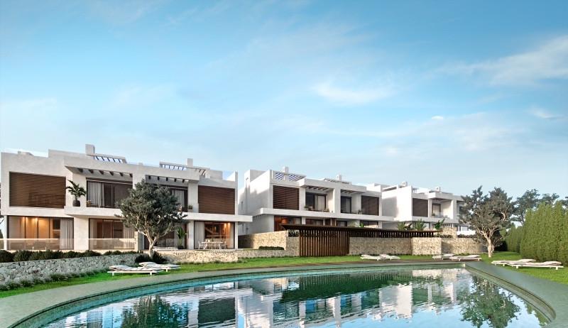 A boutique development of luxury contemporary villas with 5 semi-detached bedrooms in Artola, Cabopi,Spain