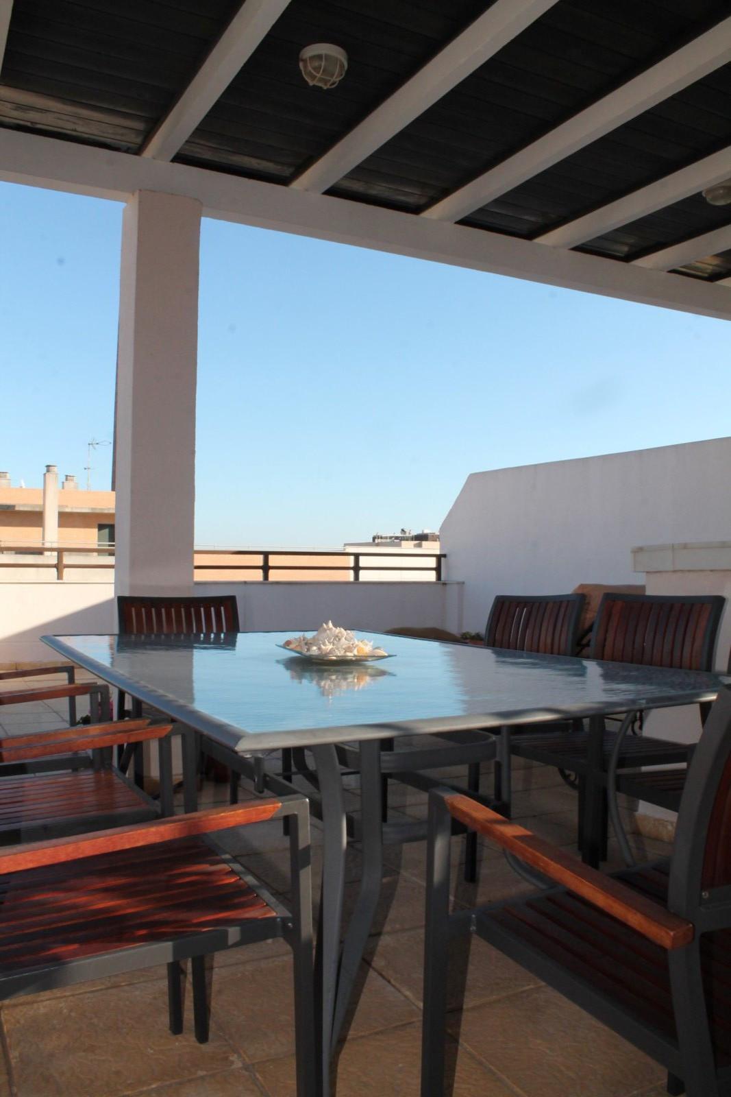 Nuevo Paseo Maritimo Antonio Banderas Modern & rarely available 2 level PENTHOUSE offers urban l,Spain