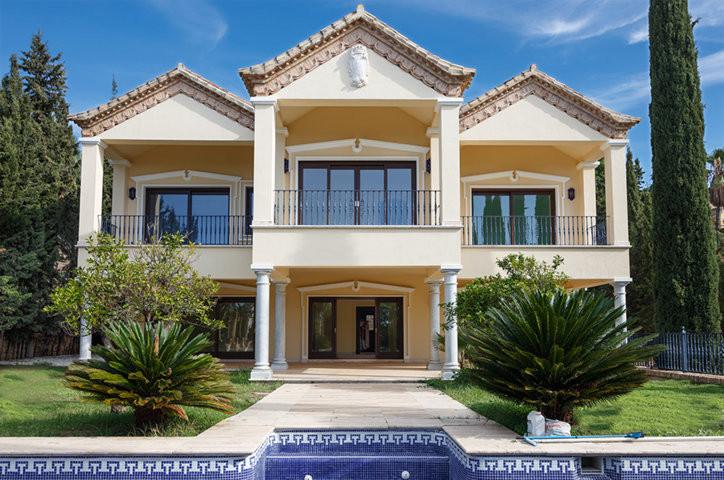 The villa is located in the most prestigious urbanization of Marbella Sierra Blanca, which lies two ,Spain