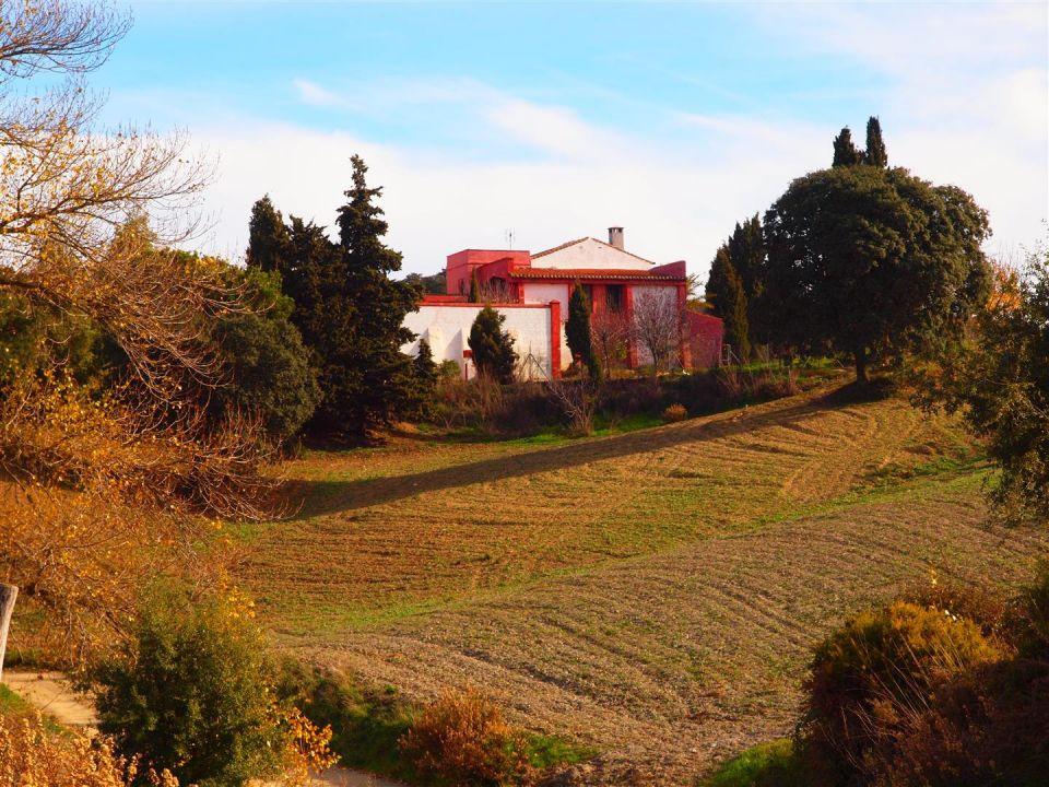 Gigantic villa in the north of the Axarquia  Beautiful farm with views of nature in Alcaucin-Zafarra,Spain