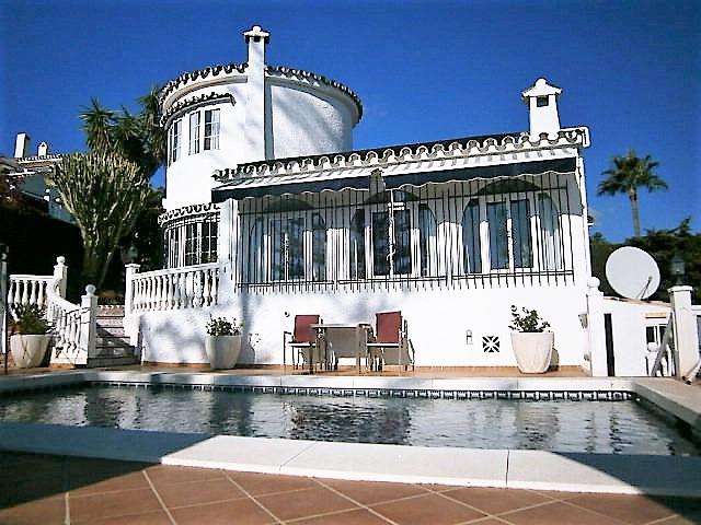 Sitio De Calahonda, West Calahonda, Mijas Costa, a marvellous 3 bedroom villa with a private pool, t,Spain