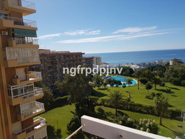 Studio en Arroyo de la miel with sea views in an urbanisation with swimming pools and big green area,Spain