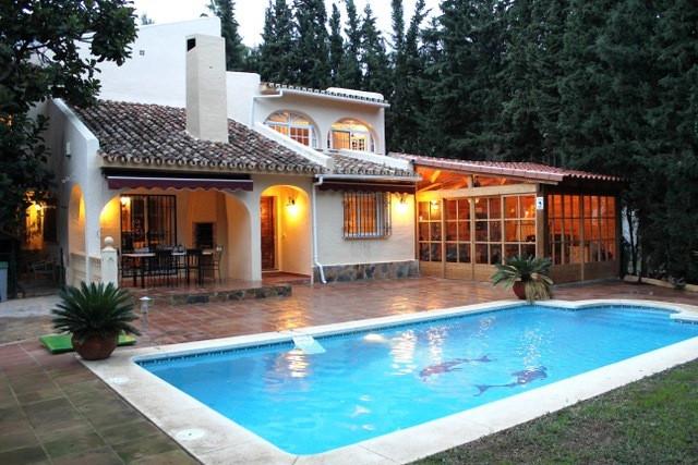 Detached Villa, Mijas Costa, Costa del Sol. 3 Bedrooms, 2 Bathrooms, Built 252 m², Garden/Plot 1105 ,Spain