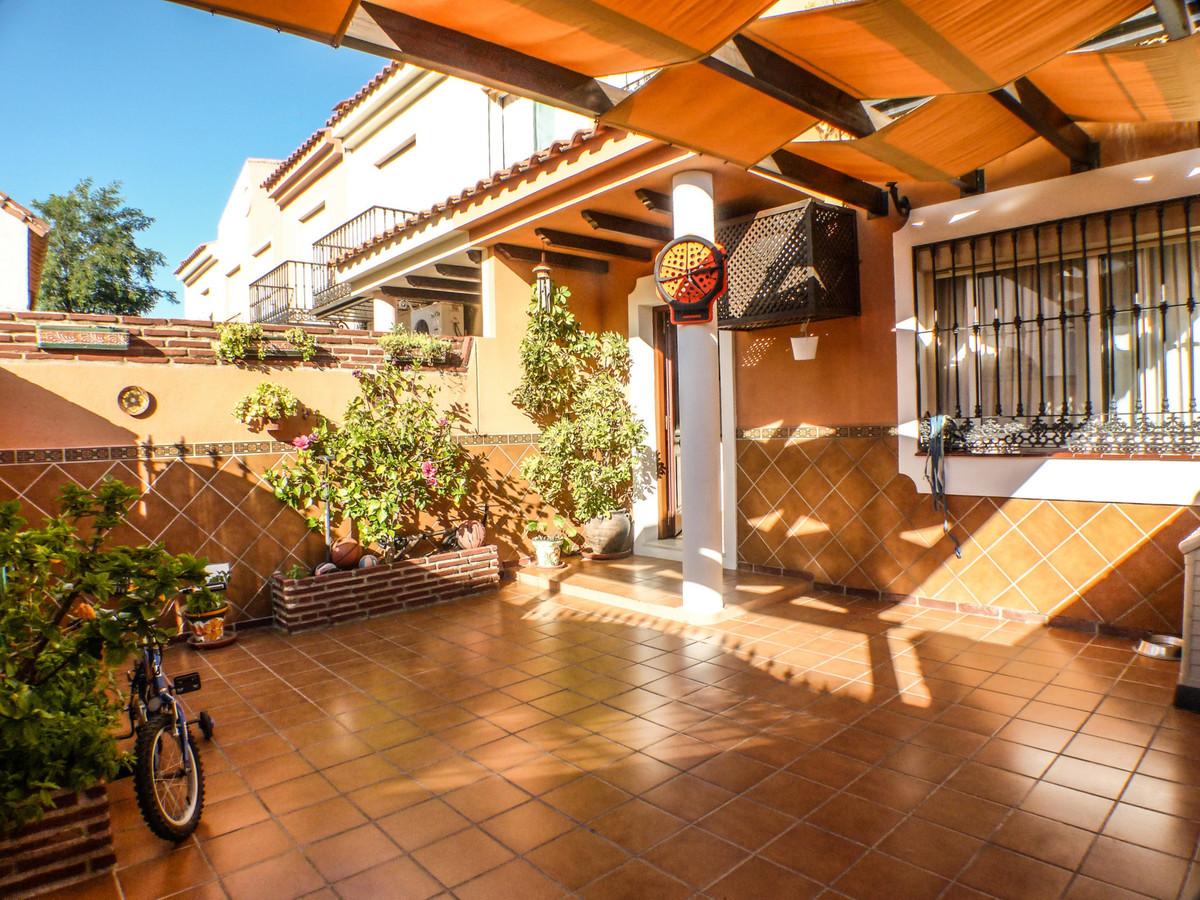 Townhouse, Mijas Costa, Costa del Sol. 3 Bedrooms, 3 Bathrooms, Built 160 m², Terrace 40 m².  Settin,Spain