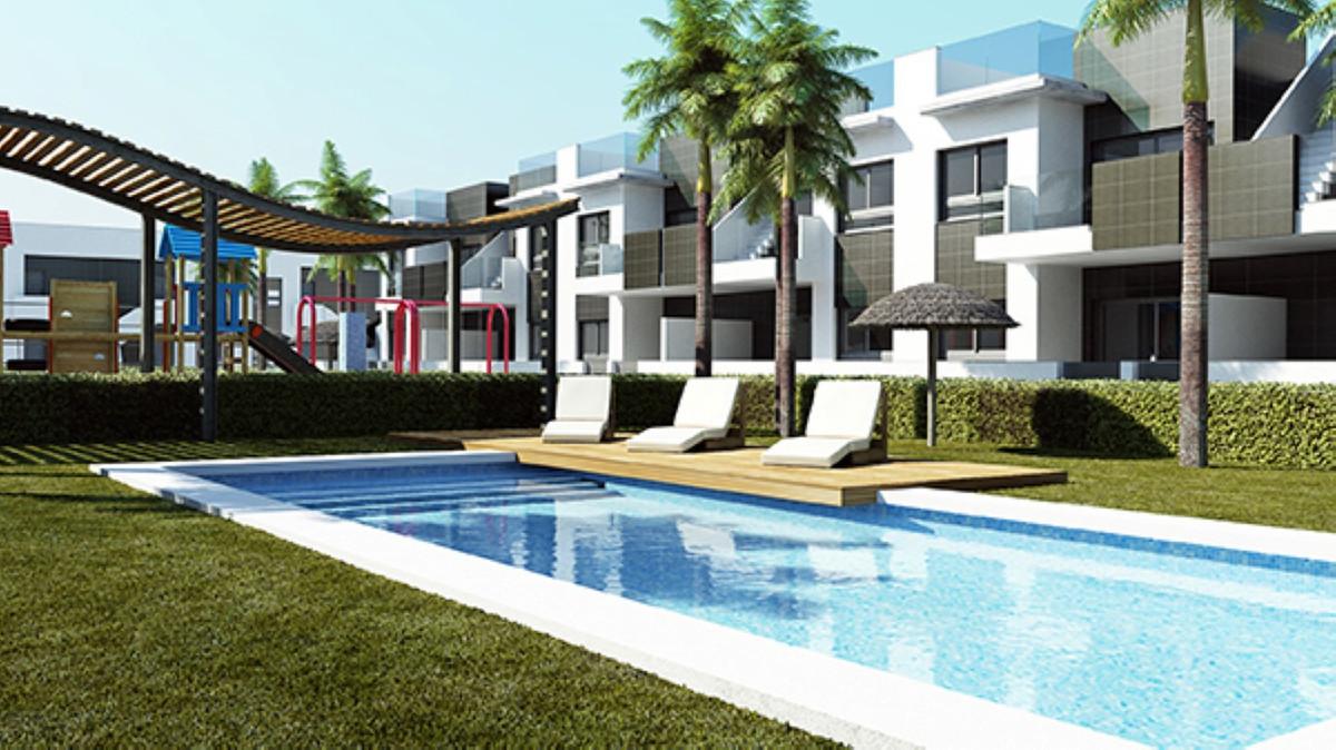 Wonderful new build apartment in Pilar de la Horadada. This is a stunning top floor apartment locate,Spain