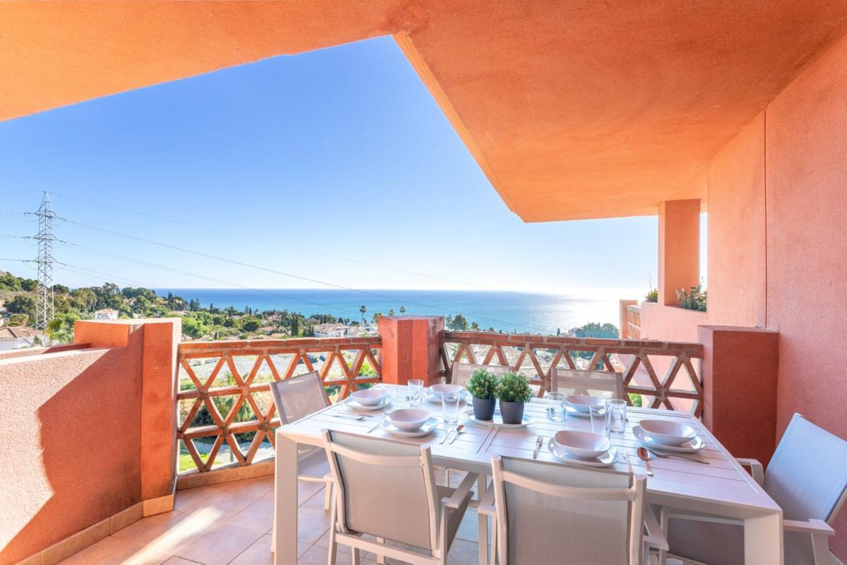 Penthouse, Benalmadena, Costa del Sol. 3 Bedrooms, 2 Bathrooms, Built 130 m², Terrace 13 m².  Settin,Spain