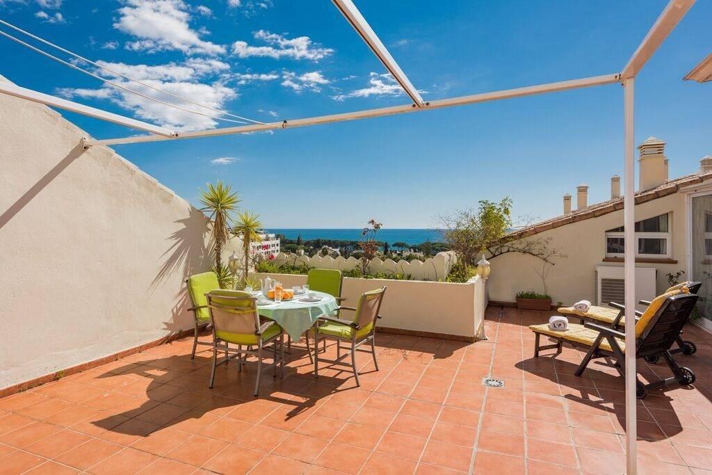 Penthouse, The Golden Mile, Costa del Sol. 4 Bedrooms, 4 Bathrooms, Built 220 m², Terrace 100 m².  S,Spain