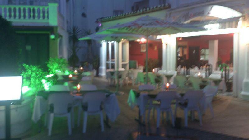Restaurant in Puerto marina Benalmadena for sale 140 square meters, 130 meters of  terrace.    Resta,Spain