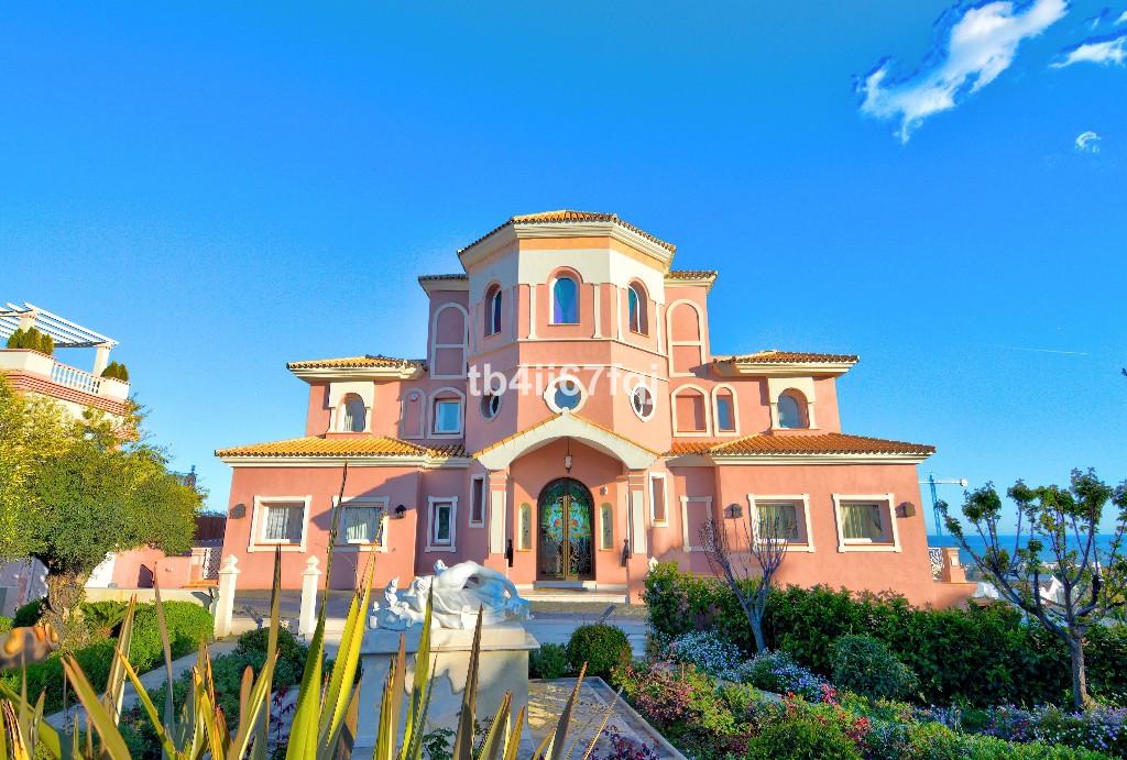 Majestic Villa in Los Flamingos Golf Resort, Benahavis.  Consisting of 3 plots of 4031 m2 and consis,Spain