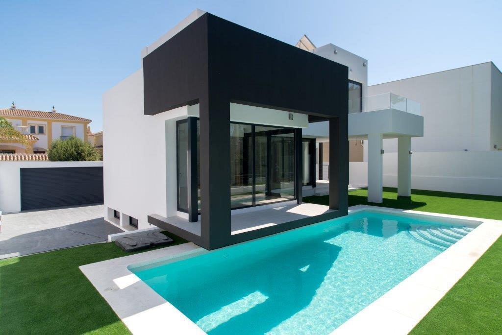 NEW EXCLUSIVE Ultra modern design house  in La Cala de Mijas 5 bedrooms 3 bathrooms, LUXE design con,Spain