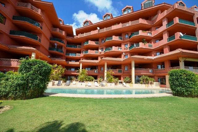 OPPORTUNITY!!!  Nice apartment with views in prestigious urbanization of Benalmadena.  It is distrib,Spain