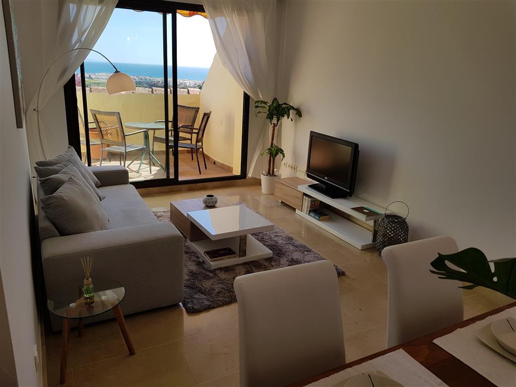 Modern 2 bedroom penthouse with sea views.3 terraces. New furniture. 2 Bedrooms, 2 Bathrooms, Built ,Spain