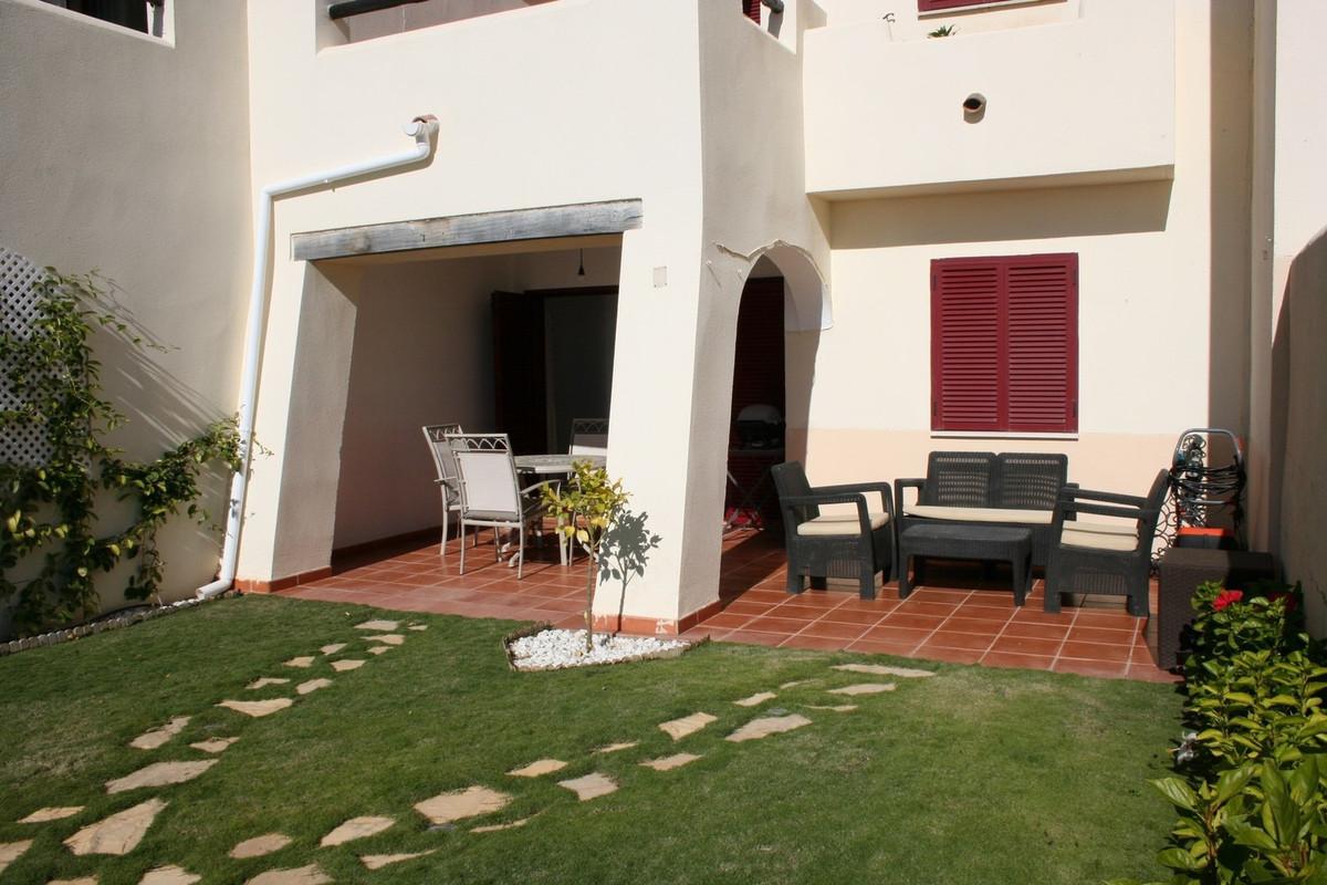 Front line block, best location in Vista Bahia, Casares Playa. Magnificent ground floor apartment, s,Spain