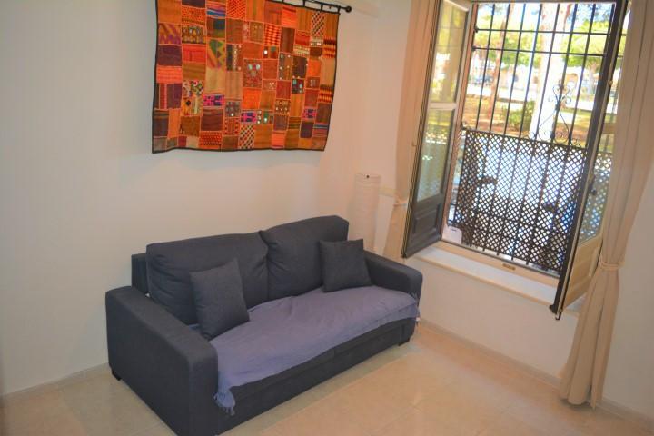 "Fantastic furnished ground floor studio in Alhamar ""front line beach complex"" with communa,Spain"