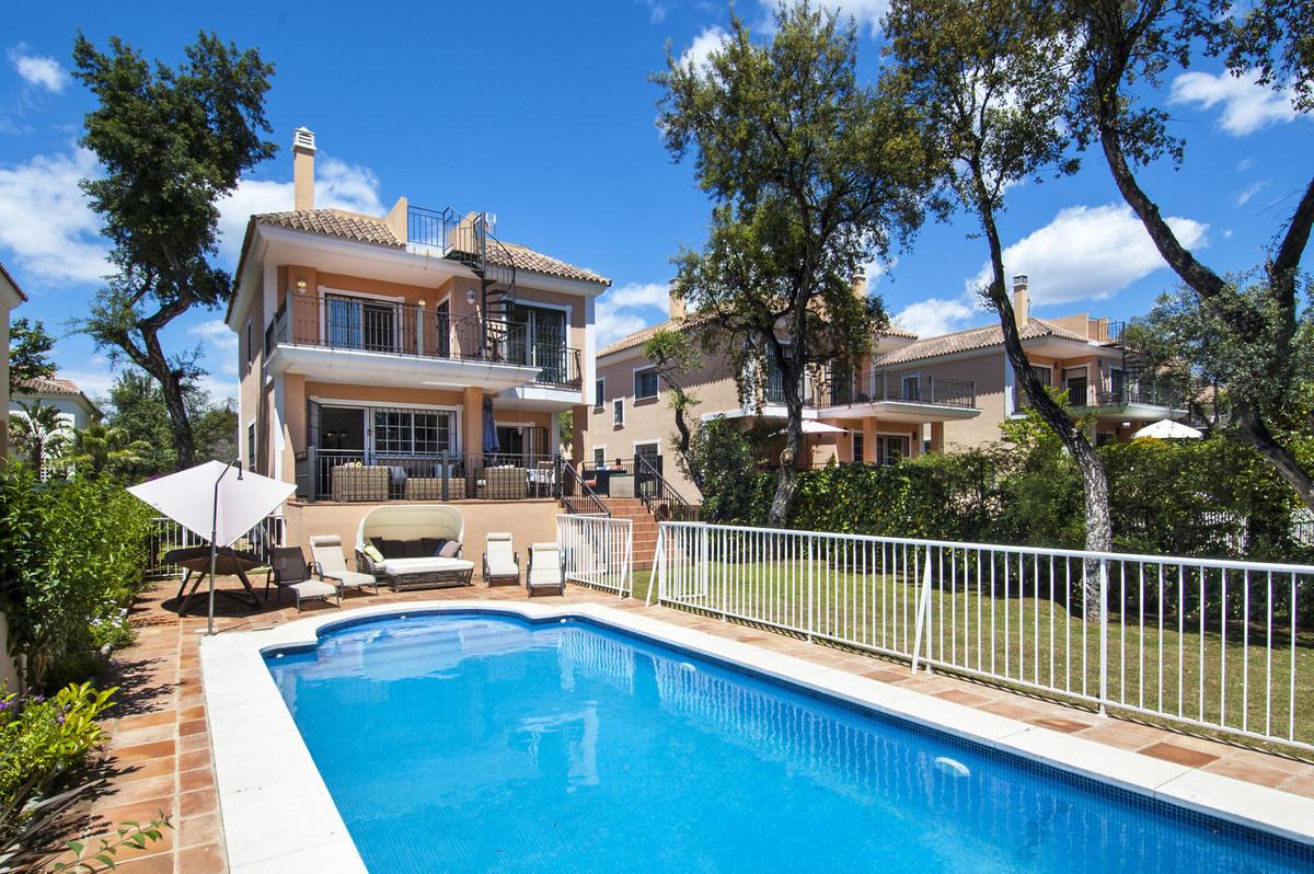 Villa for sale in Elviria, Marbella  Detached villa with private garden and private heated swimming ,Spain