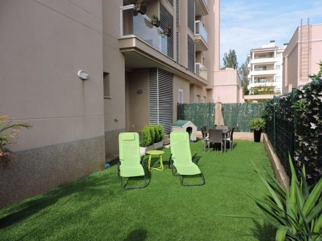 Ground floor in Sometimes (Playa de Palma) with two bedrooms and two bathrooms one en suite, constru,Spain