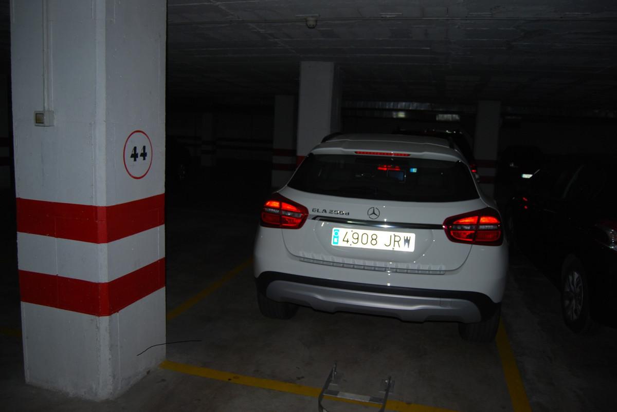 Underground parking Torrox Costa – Costa del Oro  Communal underground parking in the Mercadona area,Spain