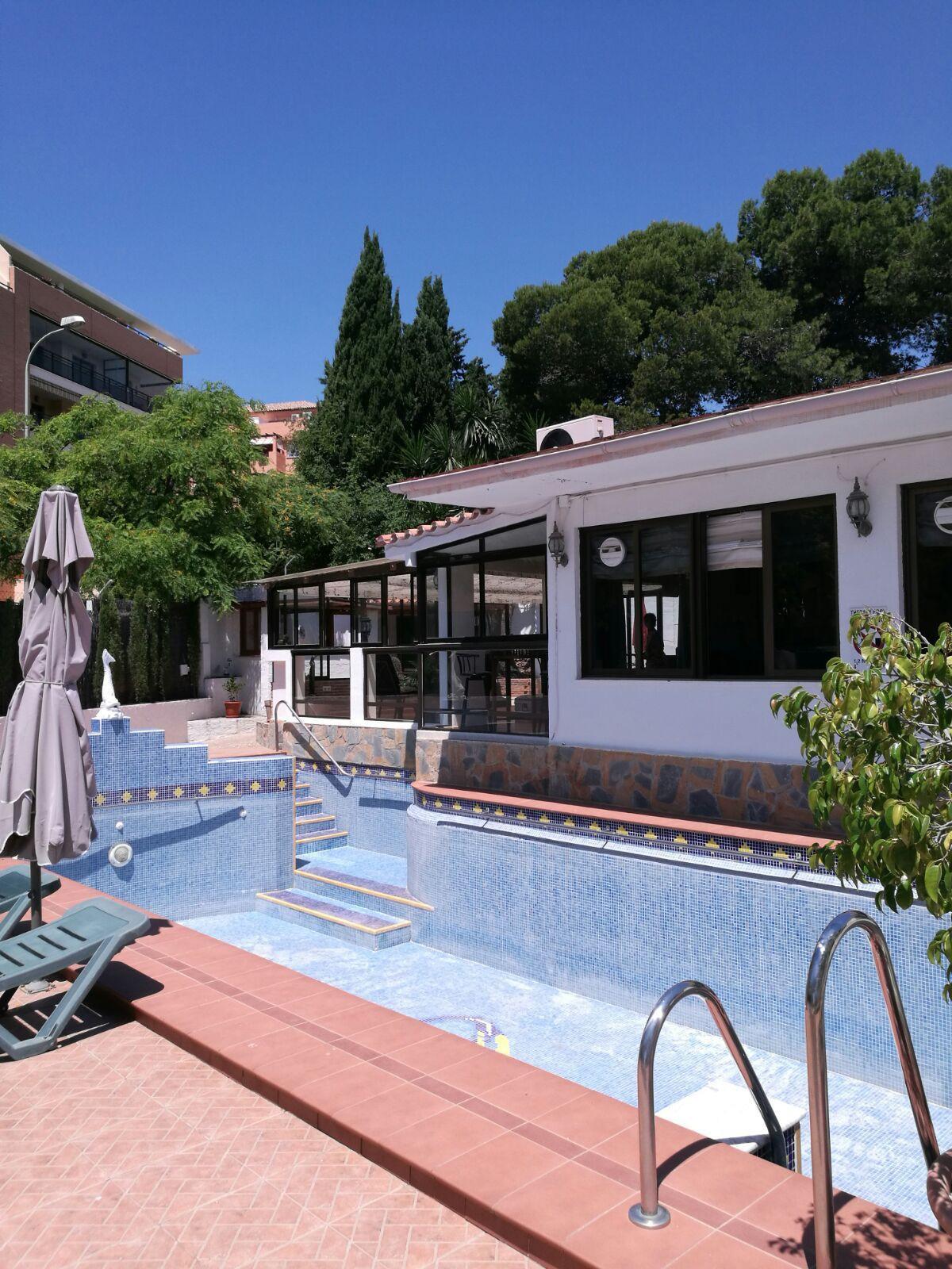 Detached, single story villa of individual character located in the El Pinillo area of Torremolinos.,Spain