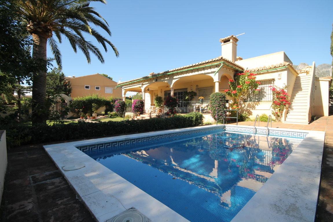 Villa near Marbella center  Fabulous 4bedrooms, 2bathrooms villa, in the center of the city. This vi,Spain