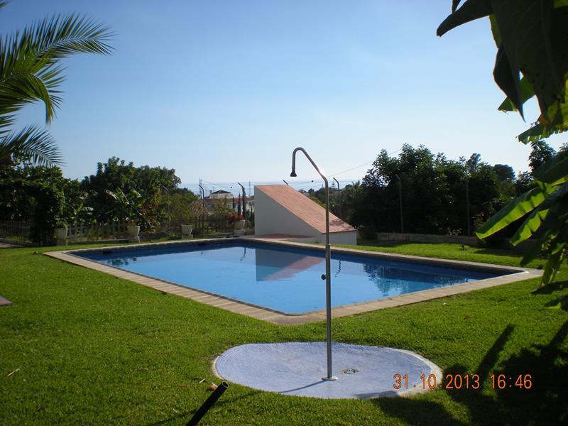 This fantastic villa is located in Los Tablazos, a small quiet area between Nerja and Frigiliana les,Spain