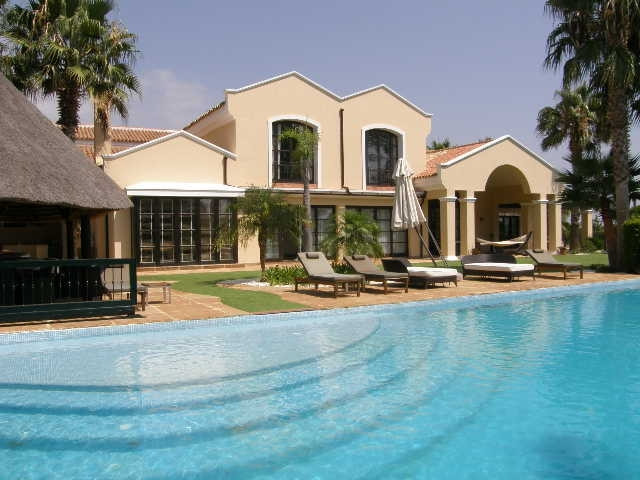 Sotogrande Alto: Spectacular 8 bedroom villa front line golf. Beautiful entrance with stone floors l,Spain