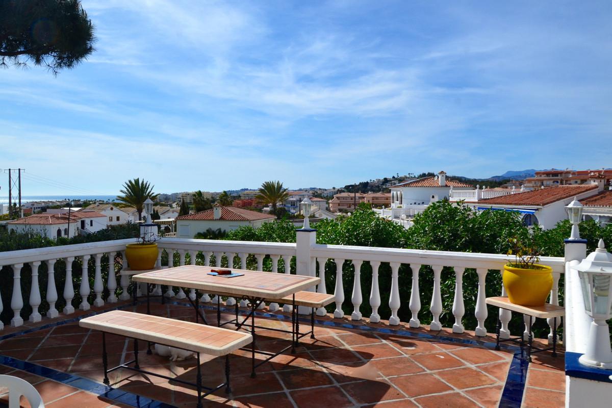 Very charming one storey villa in El Faro urbanization, Mijas Costa. This villa consists of 3 bedroo,Spain