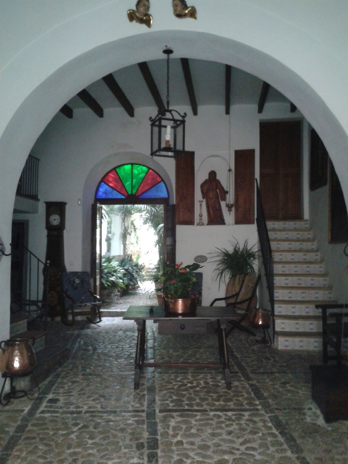 Casa de estilo tradicional mallorquina, con encanto, situada en una calle muy centrica en Soller, mu,Spain
