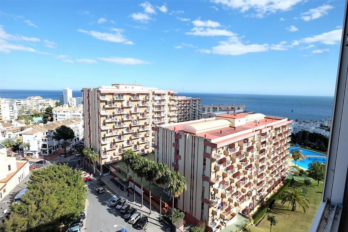 Beautiful studio in Benalmadena, sea views, close to amenities, shops restaurants etc, close to the ,Spain