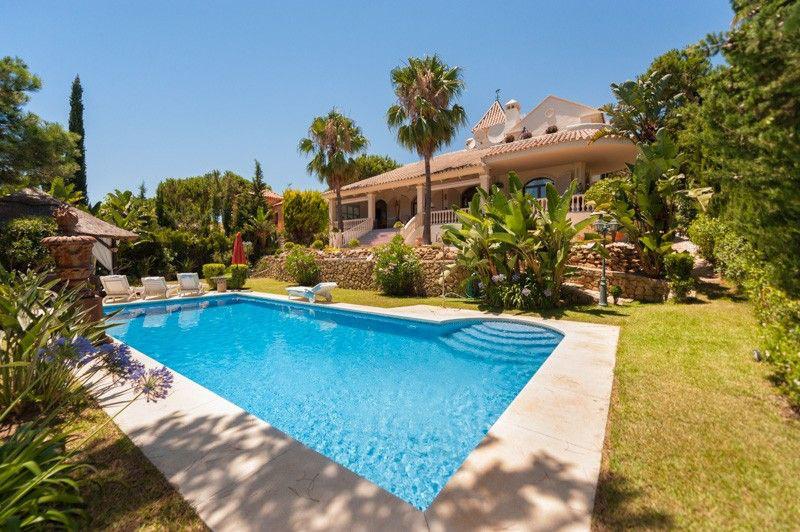 Villa with seaviews in Hacienda las Chapas, modern andalusian architecture  set in the most prestigi,Spain