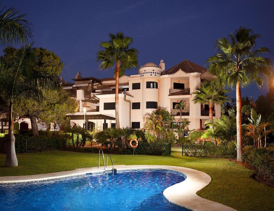 "Fantastic apartment in Second line beach ""Las Mimosas de Banus "" urbanizacion with 24 h se,Spain"