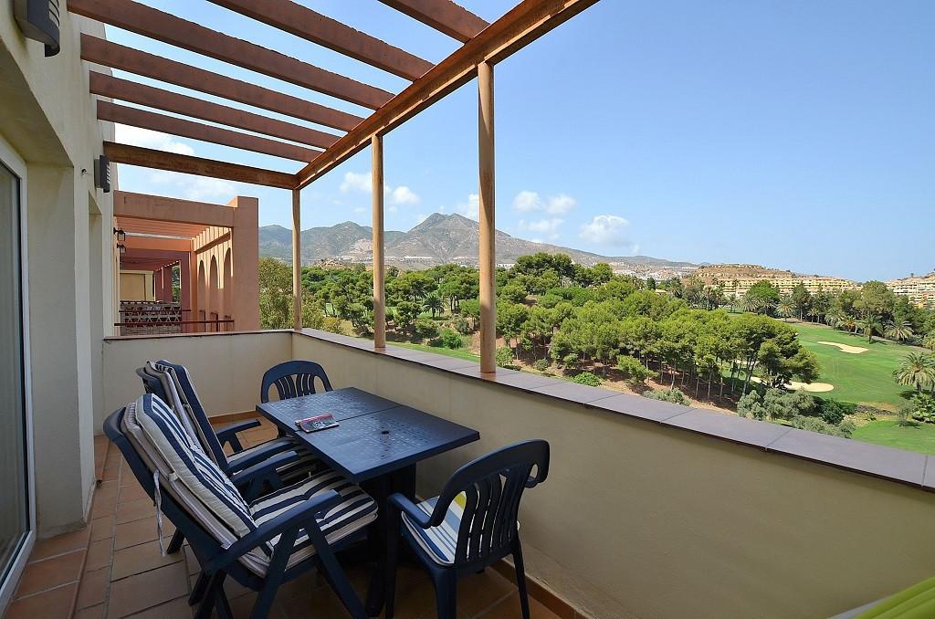 Nice apartment located in Torrequebrada (Benalmadena Costa). Large terrace of 10 m2 with beautiful v,Spain