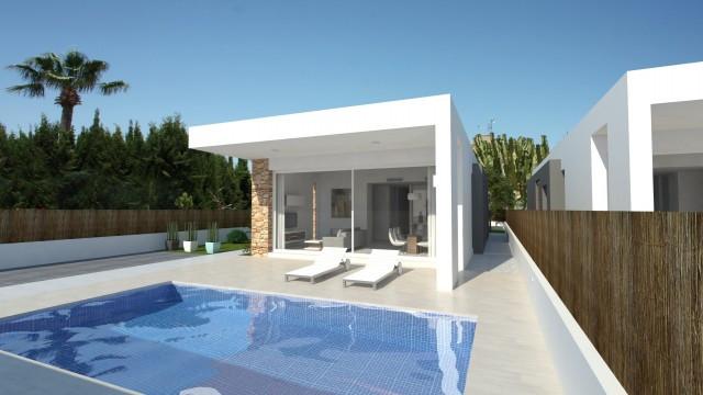 Wonderful residential of 4 luxury Villas with modern design, located on a nice urbanization near Tor,Spain